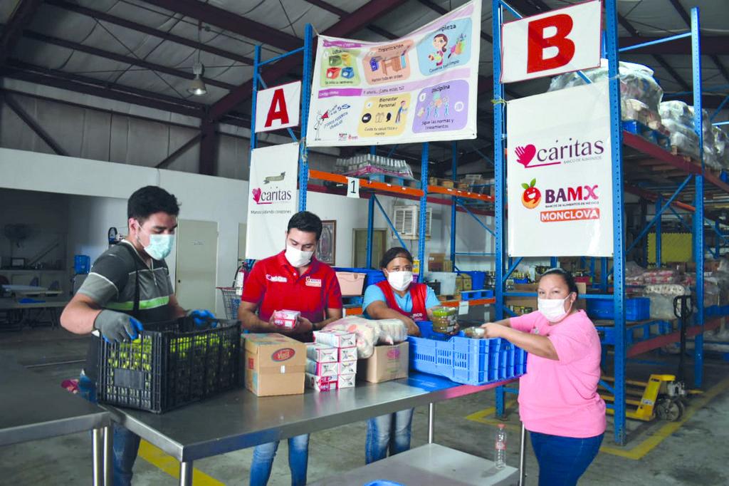 Cáritas Región Siderúrgica inicia colecta de alimentos