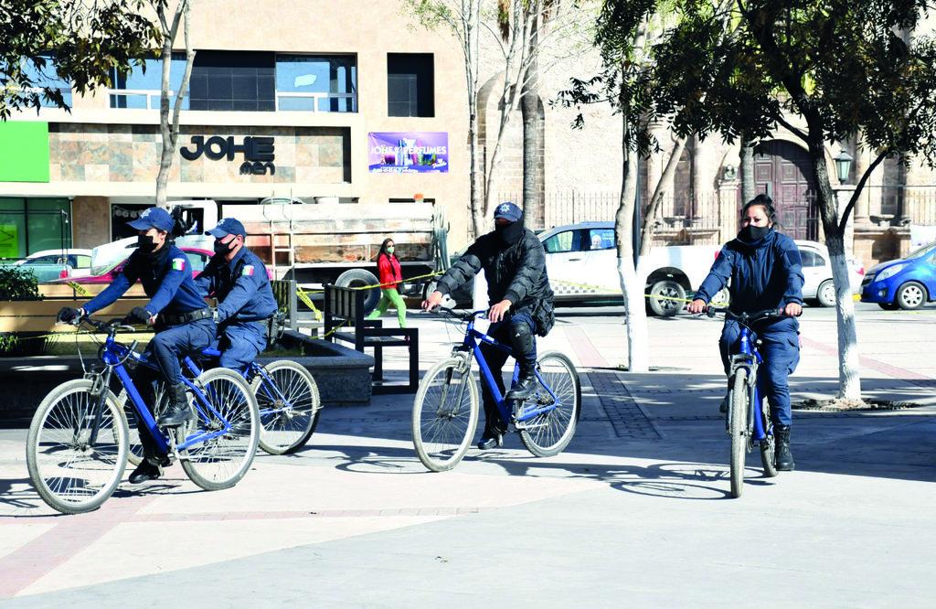 La vigilancia de policías pedestre en Monclova ¿Qué tan segura es?