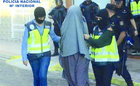 5 integrantes de célula yihadista en España fueron detenidos; preparaban atentado