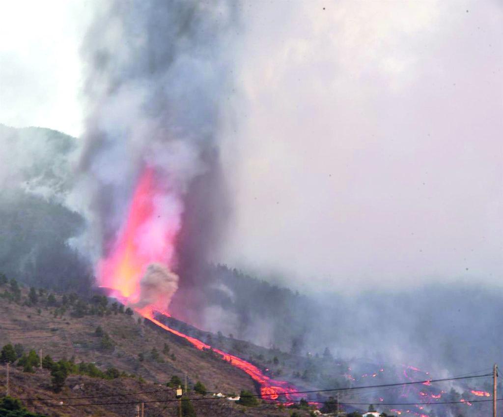 La erupción del volcán de La Palma en españa no acabará ni a corto ni a mediano plazo