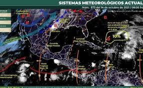 Frente frío 4 se extenderá sobre el norte de la México