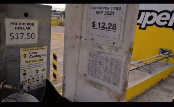 Imparable aumento del precio del Gas L.P. en Piedras Negras