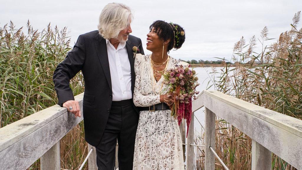 Roger Waters se vuelve a casar a sus 78 años y dijo 'estar feliz'