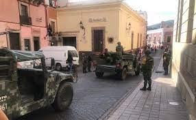 Guardia Nacional, Ejército y policías estatales blindan al Cervantino