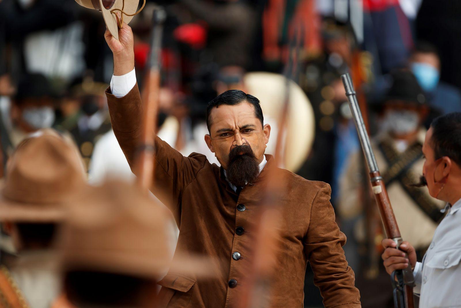 Aniversario 110 de la Revolución Mexicana