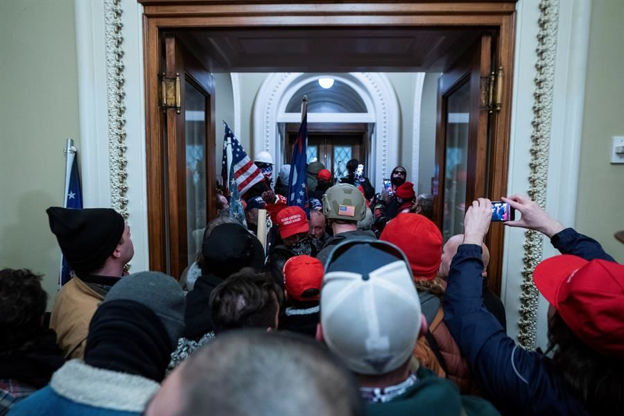 Asalto al Capitolio en Estados Unidos