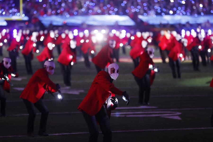 GALERÍA: El show de medio tiempo de The Weeknd en el Super Bowl LV