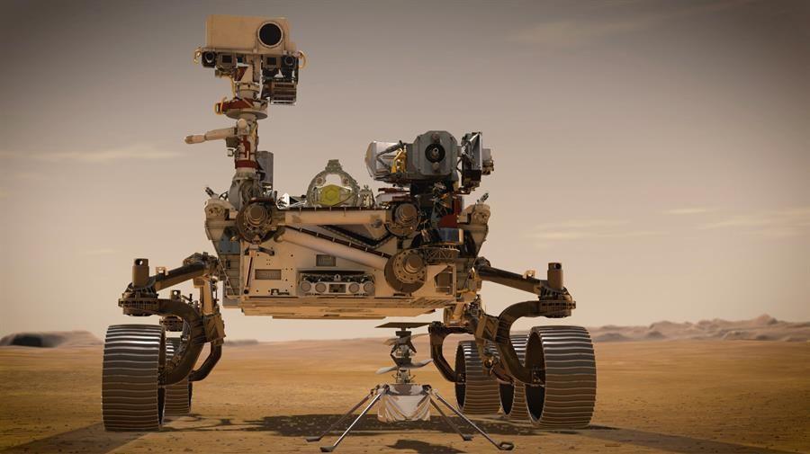 Rover Perseverence a horas de llegar a Marte