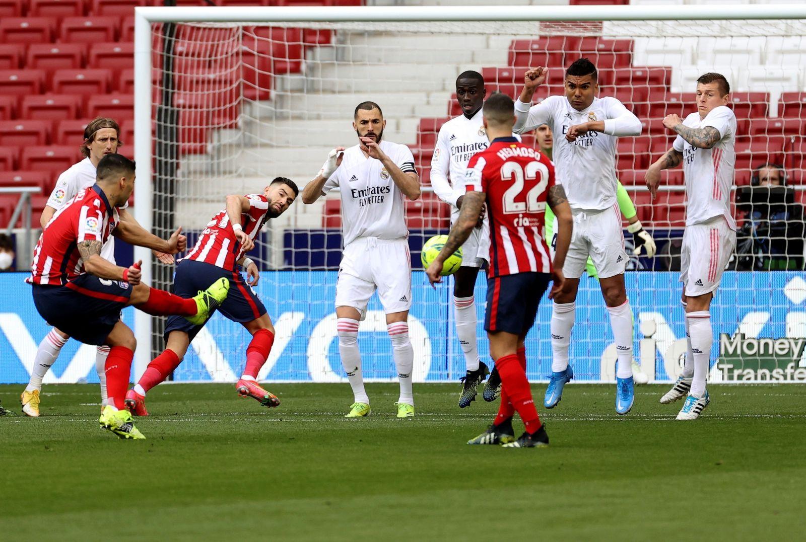 El Atlético vs el Madrid