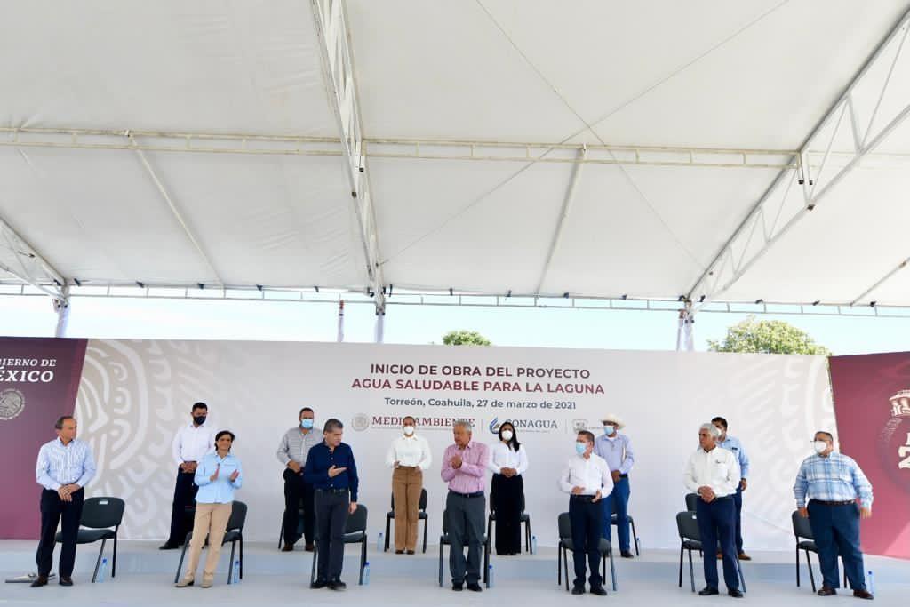 Inicia AMLO gira por municipios de Coahuila