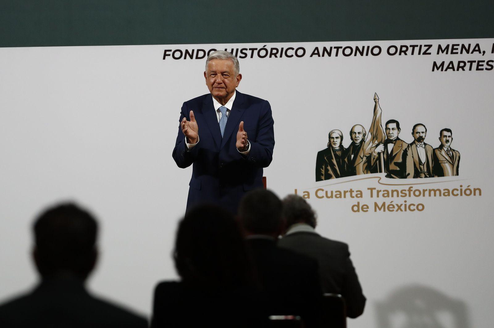Presenta AMLO informe por primeros 100 días del tercer año de su Gobierno