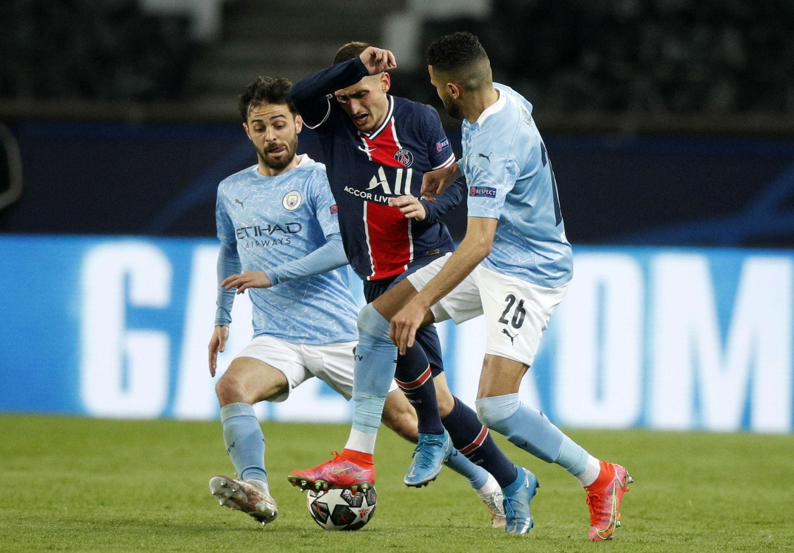 Manchester City remonta y supera 2-1 al PSG en ida de semifinales de Champions League