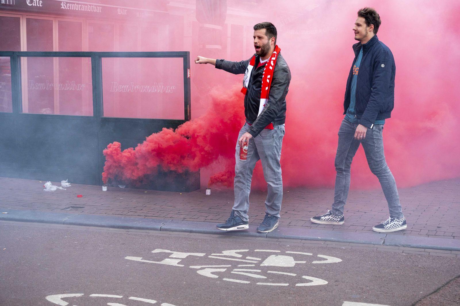 Ajax se ha proclamado campeon de la Eredivisie