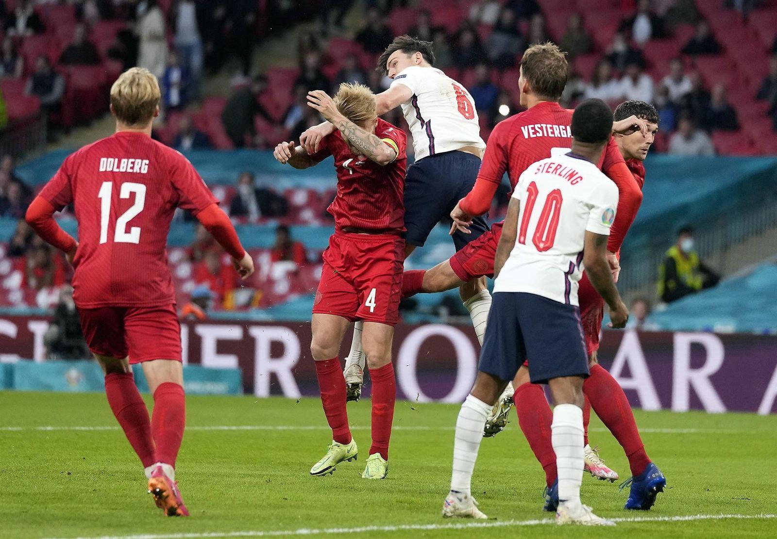 Harry Kane lleva a Inglaterra a la final de la Eurocopa; van contra Italia