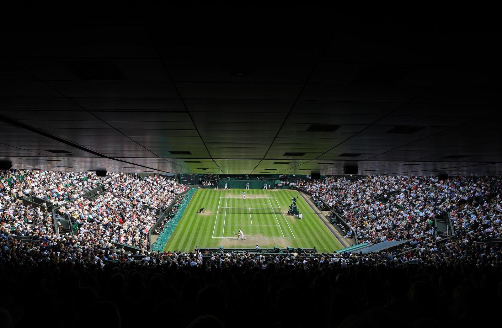 Djokovic gana en su Wimbledon
