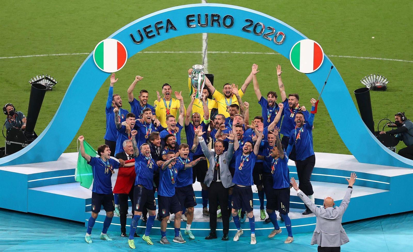 Italia gana la Eurocopa frente a Inglaterra