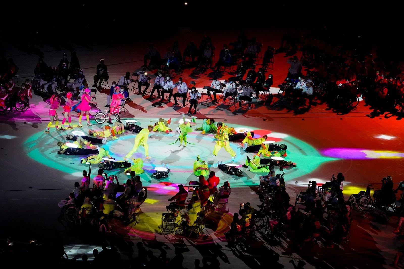 Clausuran los Juegos Paralímpicos de Tokio 2020