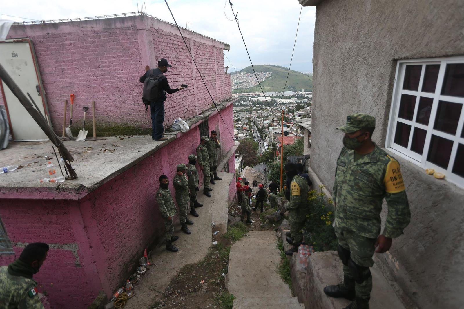 Deslave en el Cerro del Chiquihuite: Reportan un muerto y al menos 10 personas desaparecidas
