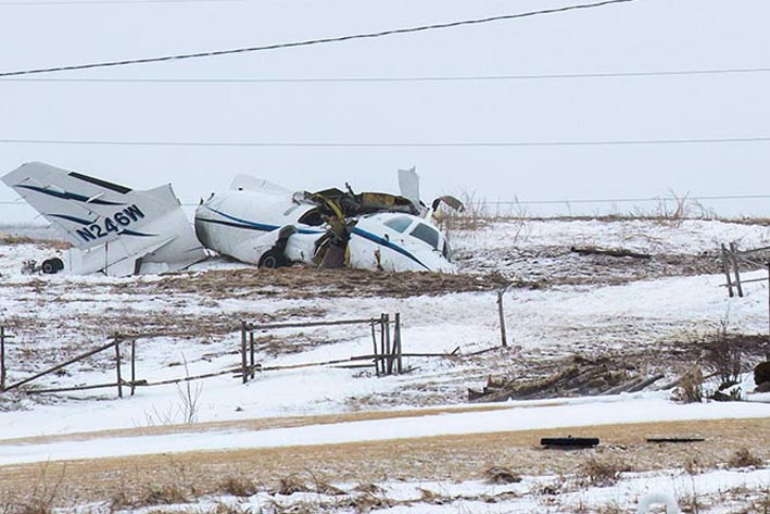 Canada Plane Crash