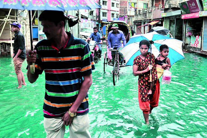 APTOPIX Bangladesh Weather