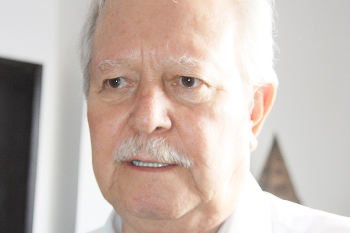 Mario Zamudio, Gerente del Simas.