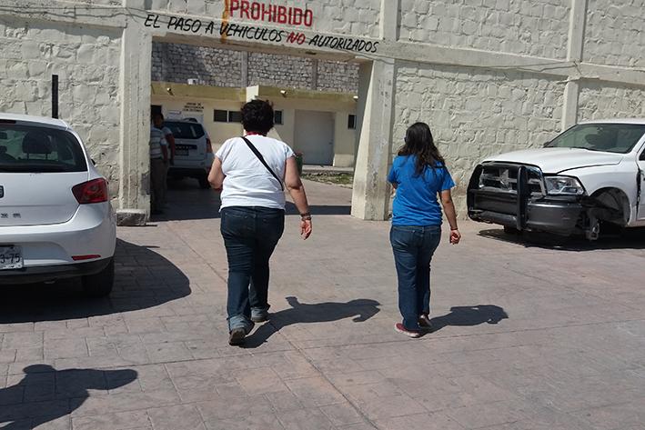 Fátima Bernal acudió a la PGJ a dar más información sobre los hechos.