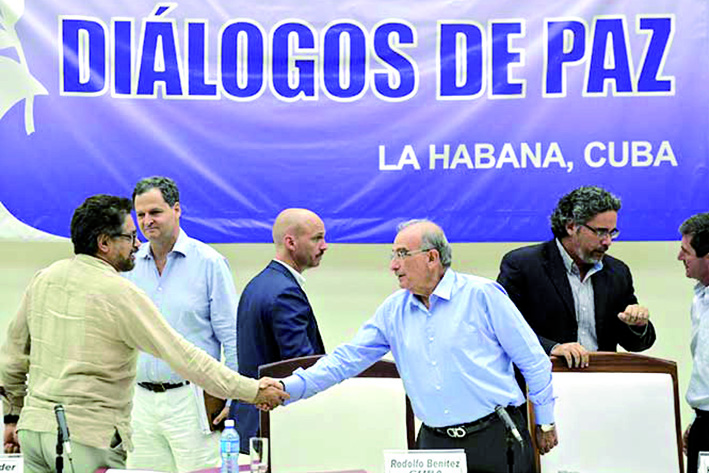 COLOMBIA-PEACE/TALKS