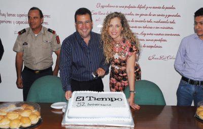 Director General del TIEMPO Enrique Zabaleta y su esposa Rossana Harb de Zabaleta