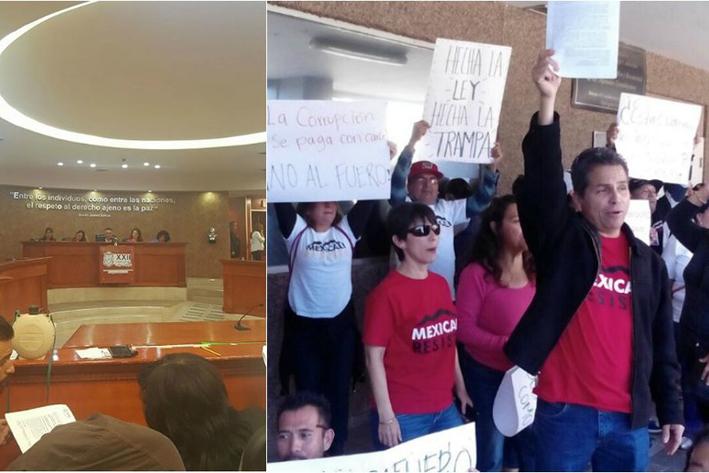 Diputados de Baja California eliminan fuero