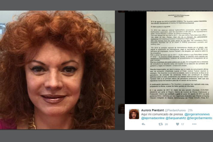 Indemniza The Guardian a abogada Aurora Pierdant por difamación