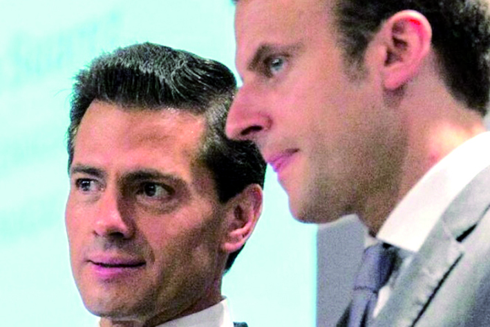 Macron hace los primeros nombramientos de su gobierno
