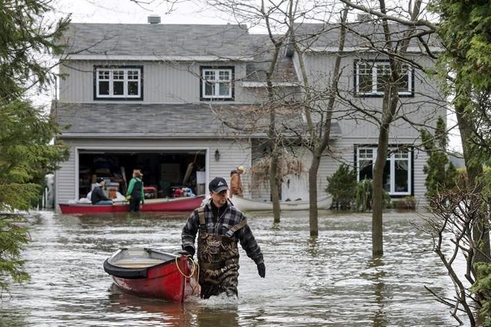 Estado de emergencia en Canadá por lluvias