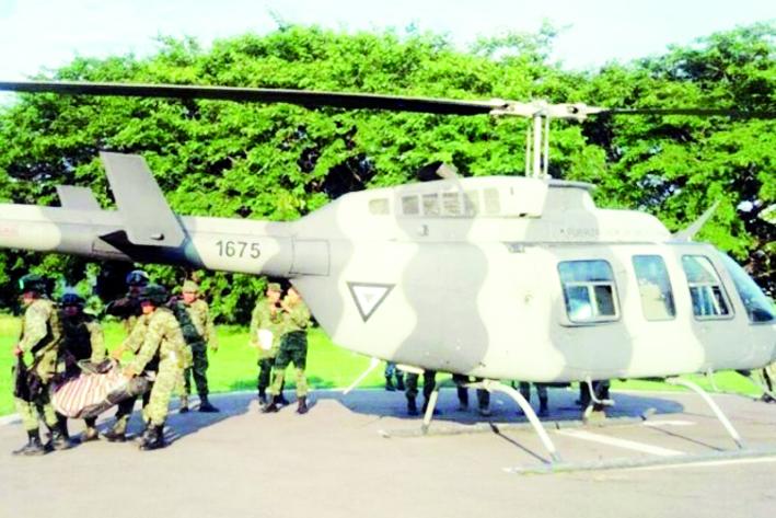 Sedena confirma la desaparición de 6 militares por alud en Guerrero