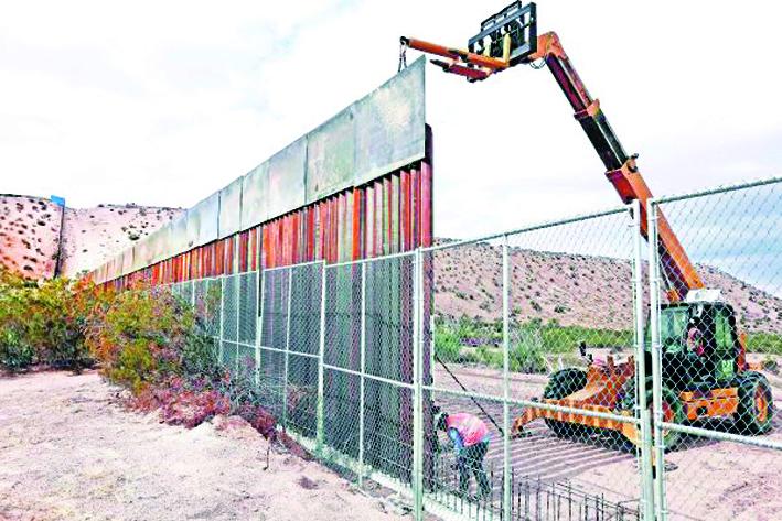 Iniciaría construcción del muro de Trump en la primavera de 2018