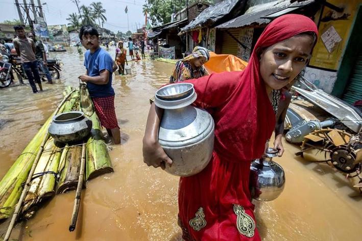 Se registran inundaciones mortíferas en India