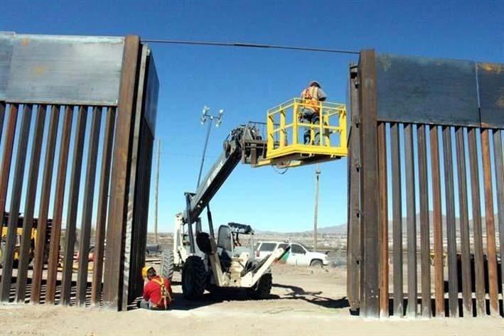 Trump precisa: no se necesita muro en toda la frontera