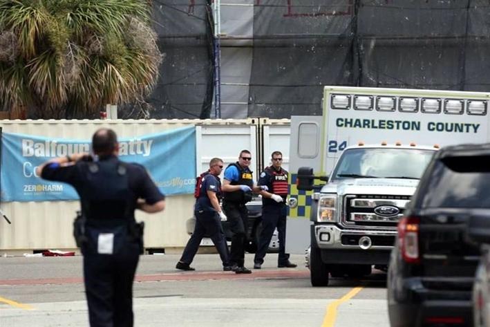 Reportan un tirador activo en Charleston, EEUU