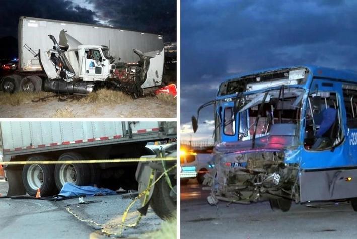 Choque deja 1 muerto en carretera Monterrey-Saltillo