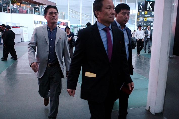 El DiplomáticoKim Hyong Gil fue declarado persona 'non grata' el 7 de septiembre por el gobierno de México