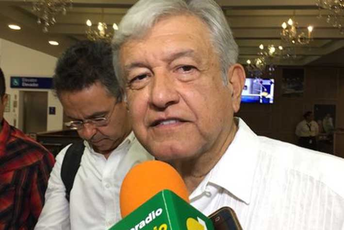 López Obrador plantea diálogo con el narco