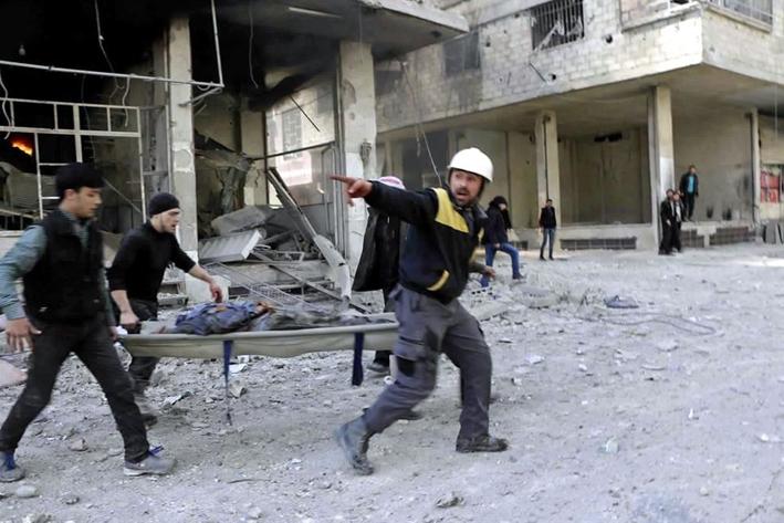Ataques aéreos y de artillería dejan al menos 18 muertos en Siria