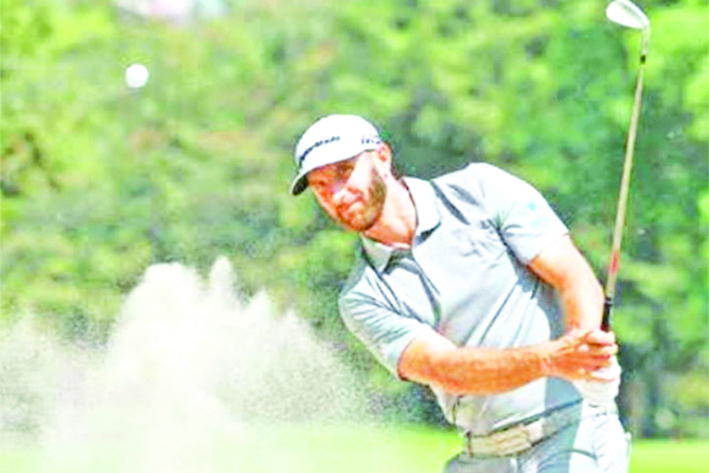 Dustin Johnson llega al World Golf Championship México