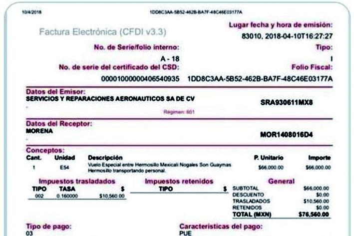 Denuncia PRI a AMLO por uso de avioneta; piden al INE actuar