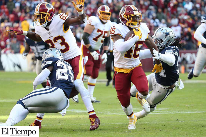 Le gana Washington a Cowboys sobre la hora