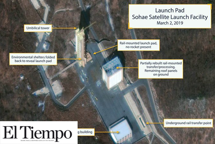 Nuevos indicios apuntan a posible lanzamiento de misil de Norcorea