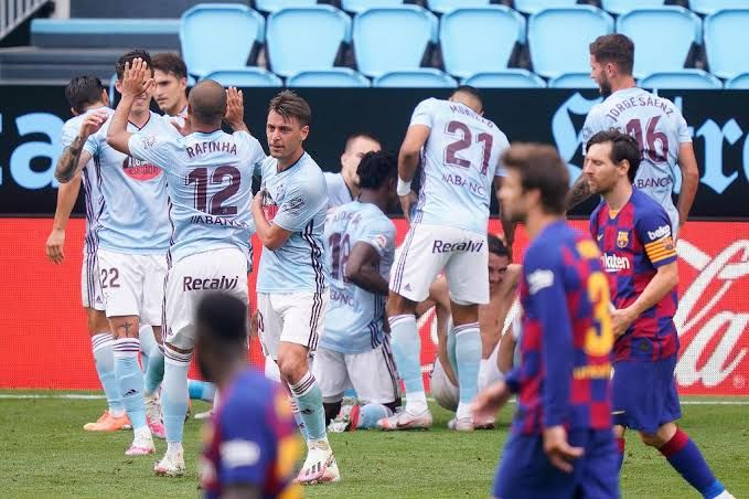 El Barça deja ir media liga en Vigo.