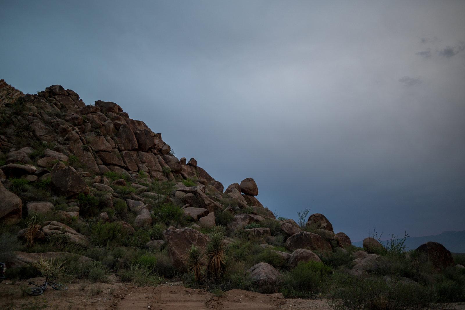 Sierra del Sarnoso. Formaciones rocosas